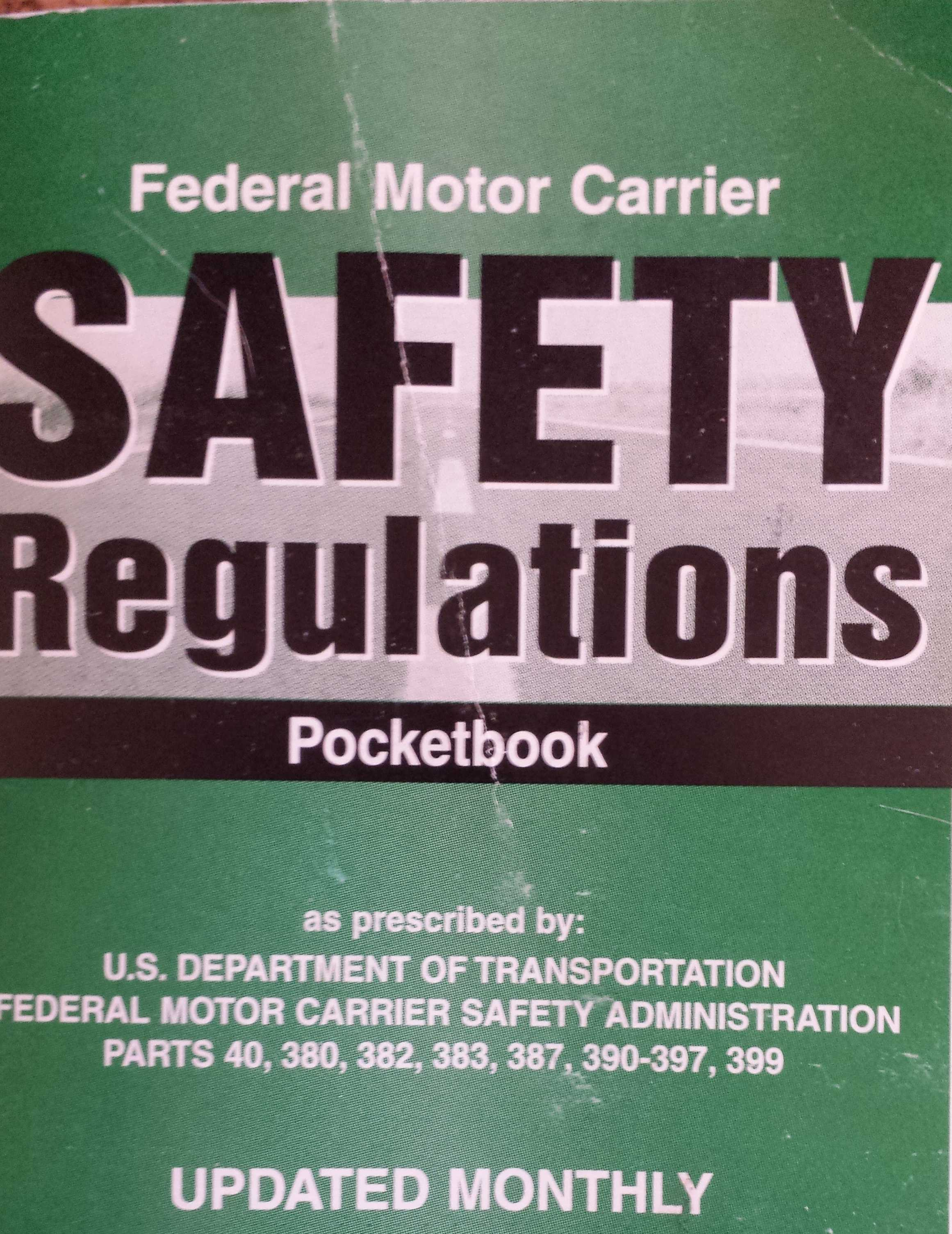 Expert truck safety fmcsrs knowledge experience for What is the federal motor carrier safety regulations